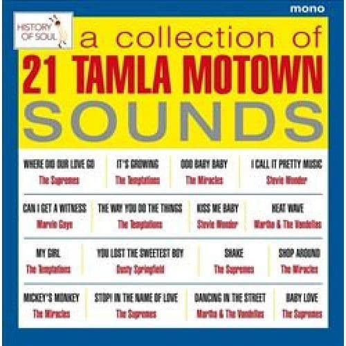 Various<br>A Collection Of 21 Tamla Motown Sounds - Tamla Motown Live in Europe 1965<br>LP, Mono